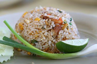 soñar con arroz cocinado