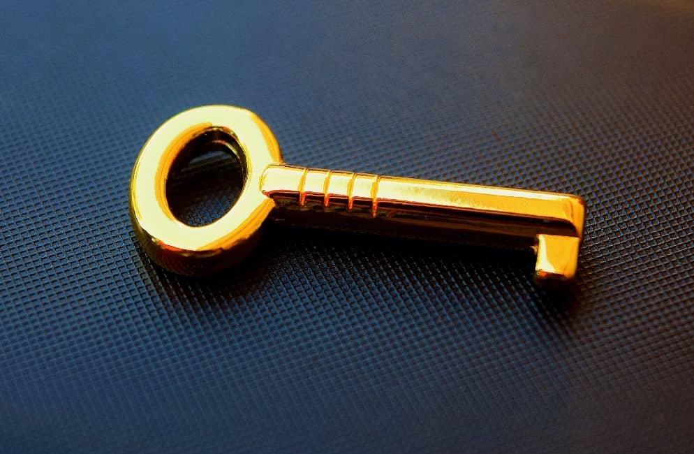 Soñar con llaves de oro