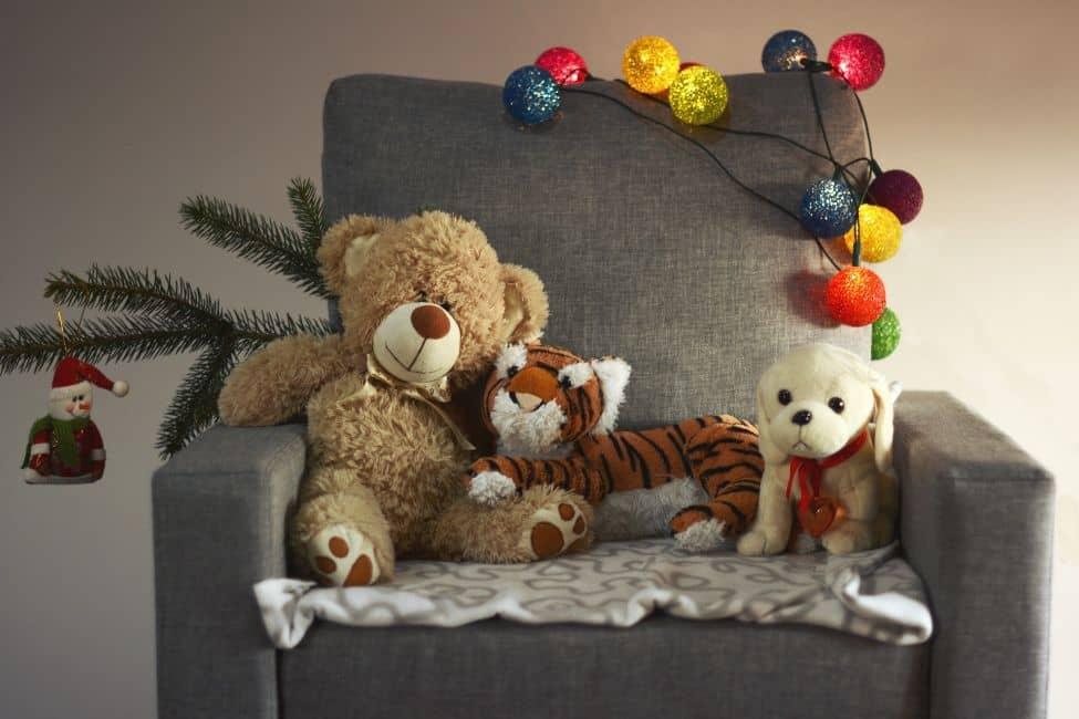 Soñar con tigre de peluche