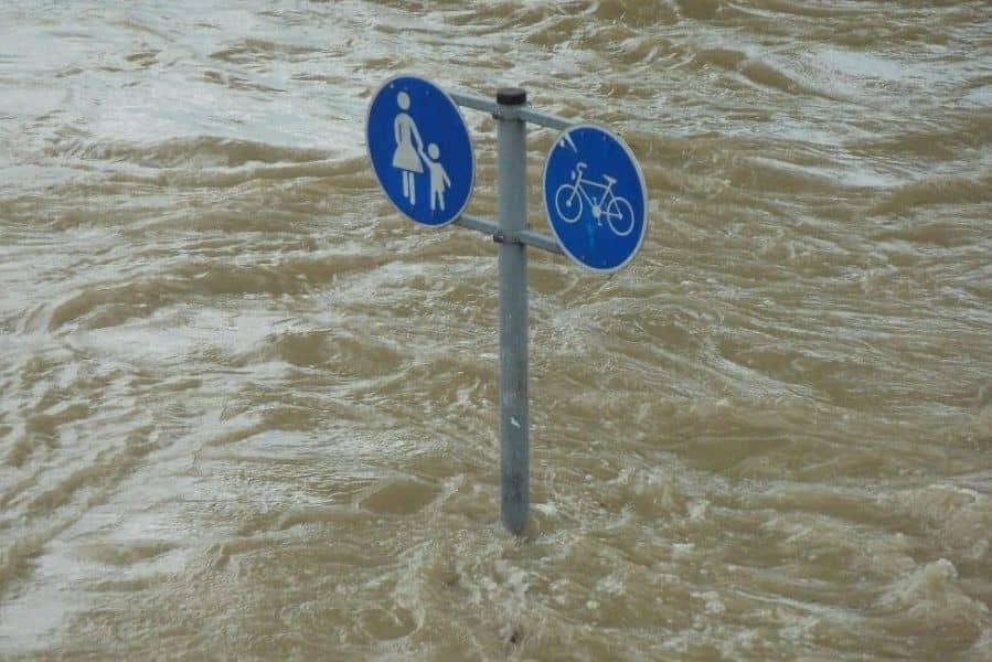 significado de soñar con inundación